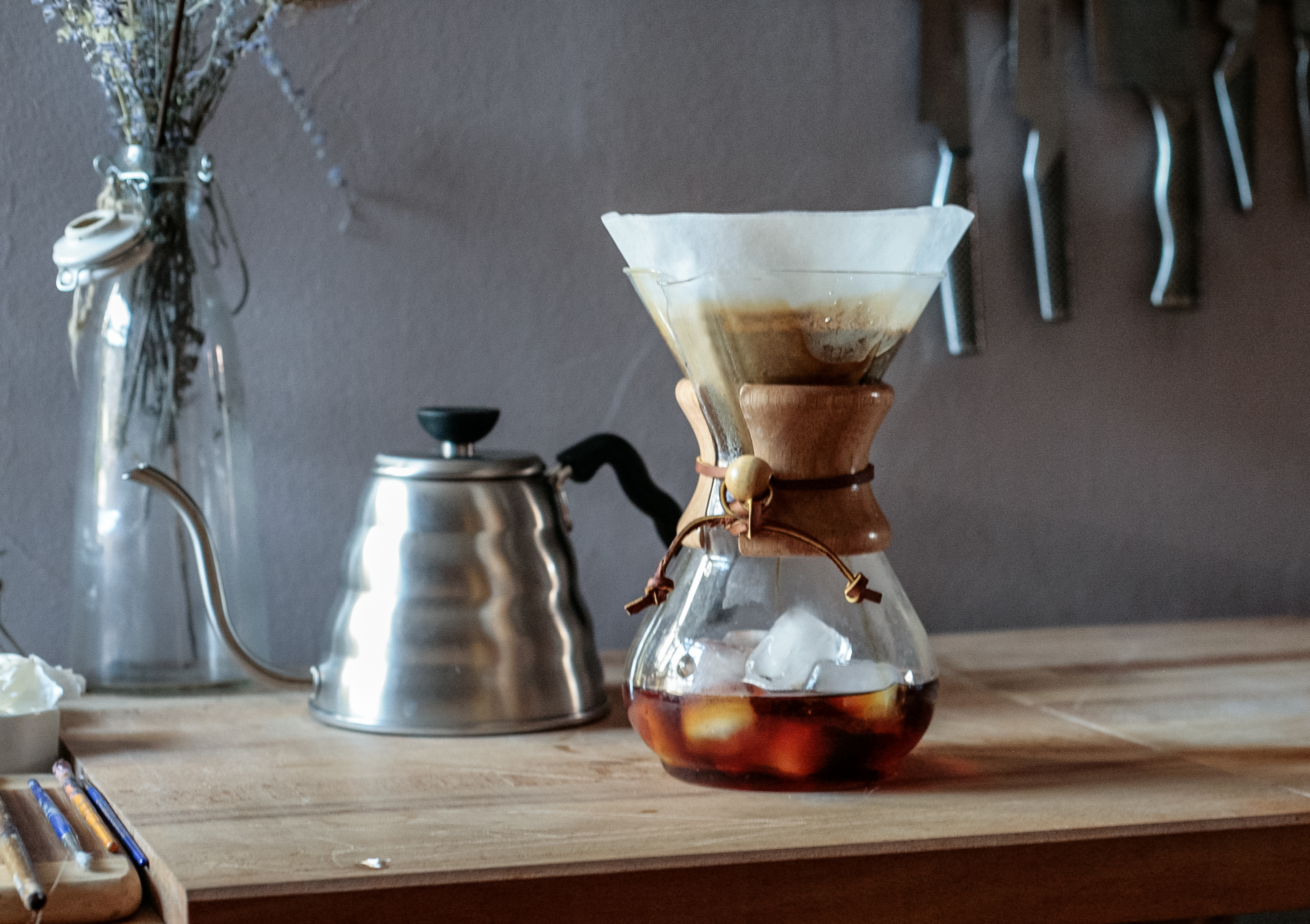 Quick Fix for Cold Brew: Iced Chemex - 1335 Frankford